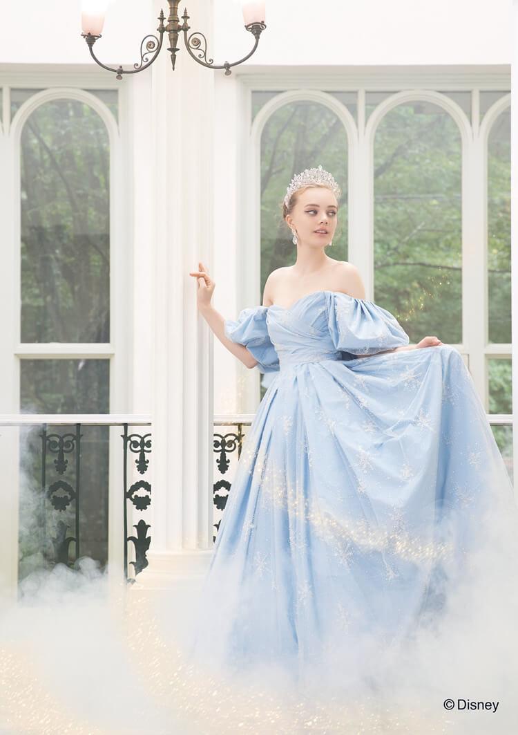 0181b9616e5 DISNEY WEDDING DRESS COLLECTION ディズニー ウエディングドレス ...